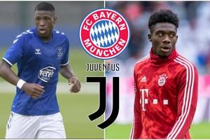 Bayern និង Juventus កំពុងចាប់អារម្មណ៍កីឡាករ Everton មួយរូបដែលមានសមត្ថភាពប្រហាក់ប្រហែលនឹង Alphonso Davies