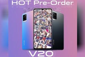 ស្មាតហ្វូន vivo V20 តម្លៃត្រឹម $369 បើកធ្វើការ Pre-Order ភ្លាមទទួលបានការគាំទ្រខ្លាំង