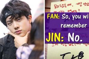 មកអានសារទាំង២២ ដែល Jin បានសរសេរឱ្យអ្នកគាំទ្រ ទើបដឹងថាគួរឱ្យអស់សំណើចយ៉ាងណា