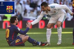 Messi ផ្ញើសារខ្លីមួយទៅ Ronaldo មុនពេលត្រូវប៉ះ R. Madrid យប់នេះនិងប៉ះ Juventus សប្តាហ៍ក្រោយ