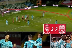 Shaqiri ស៊ុត free-kick មួយជើងនេះអេមណាស់! Liverpool លត់ក្លិប Lincoln ៧-២ ក្នុងពានរង្វាន់ League Cup យប់មិញ