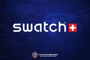 ថ្មីៗនេះ ក្រុមហ៊ុនផលិតនាឡិកាដ៏ធំបំផុតនៅក្នុងពិភពលោក Swatch ត្រូវបានទទួលរងការវាយប្រហារពីជនអនាមិក