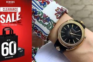 ៥ ម៉ូតដែលអ្នកមិនគួររំលងពី Versus Versace ក្នុងឱកាស Clearance ឆ្នាំនេះ!!!
