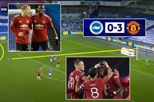 គ្រាប់ទី៣ Pogba ស៊ុតហ្វ្រីឃីកអេមណាស់! Man UTD កក់កៅអីទៅវគ្គ៨ក្រុមពាន League Cup ក្រោយលត់ Brighton ៣-០ (មានវីដេអូ)